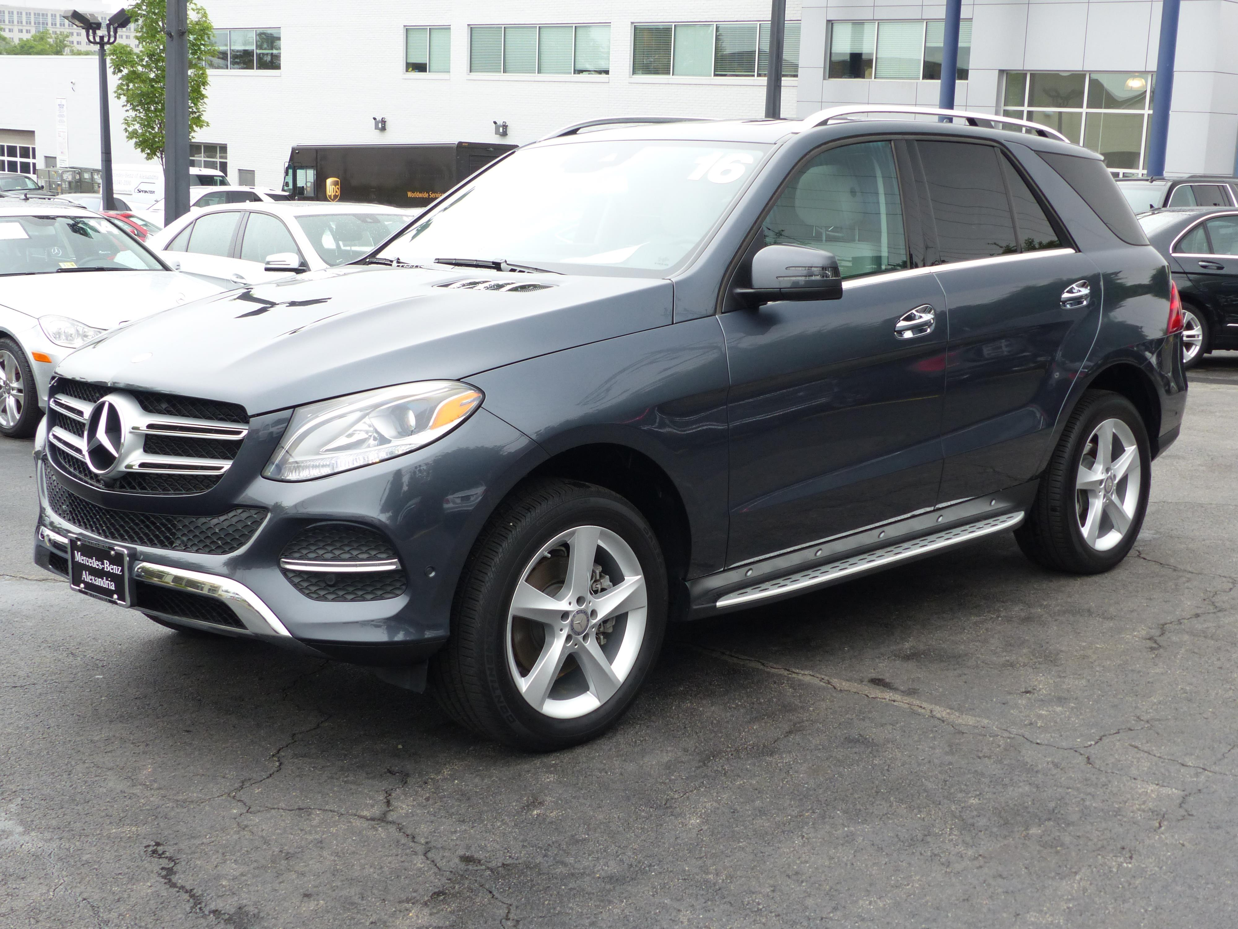 Certified pre owned 2016 mercedes benz gle 350 4d sport for Alexandria mercedes benz