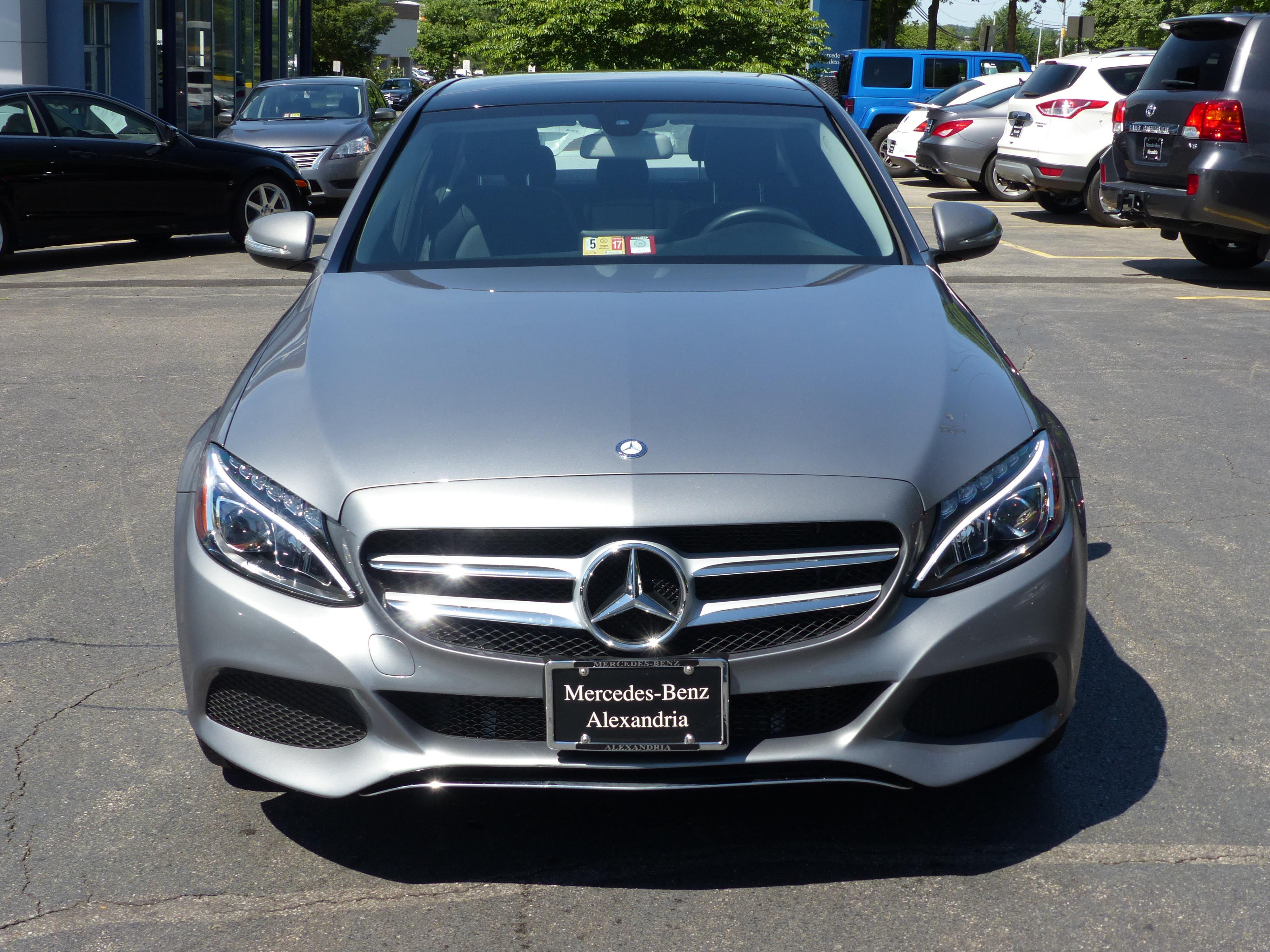 Certified pre owned 2015 mercedes benz c class c 300 sedan for Mercedes benz of alexandria