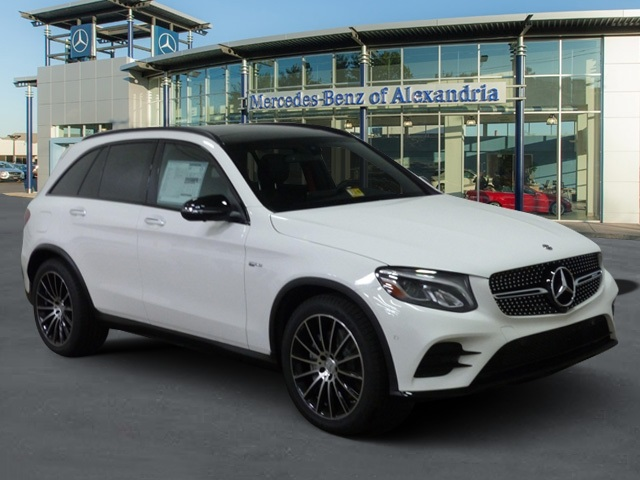 new 2018 mercedes benz glc 43 amg suv suv in alexandria jv017124 mercedes benz of alexandria. Black Bedroom Furniture Sets. Home Design Ideas