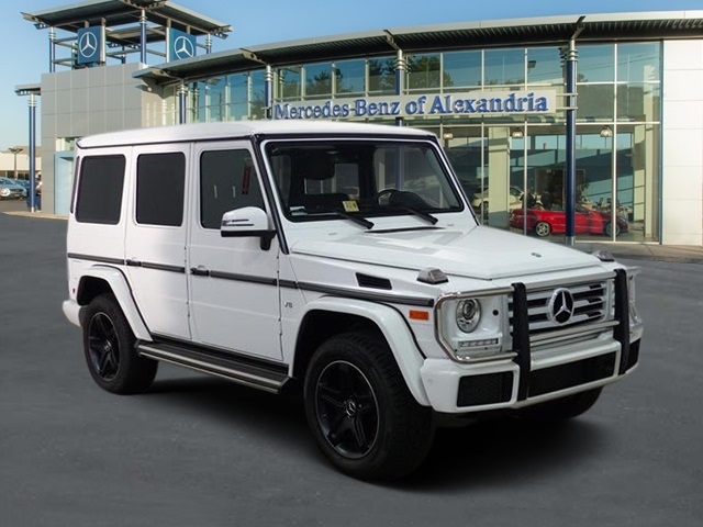 New 2017 mercedes benz g class g550 suv in alexandria for 2017 mercedes benz g class msrp