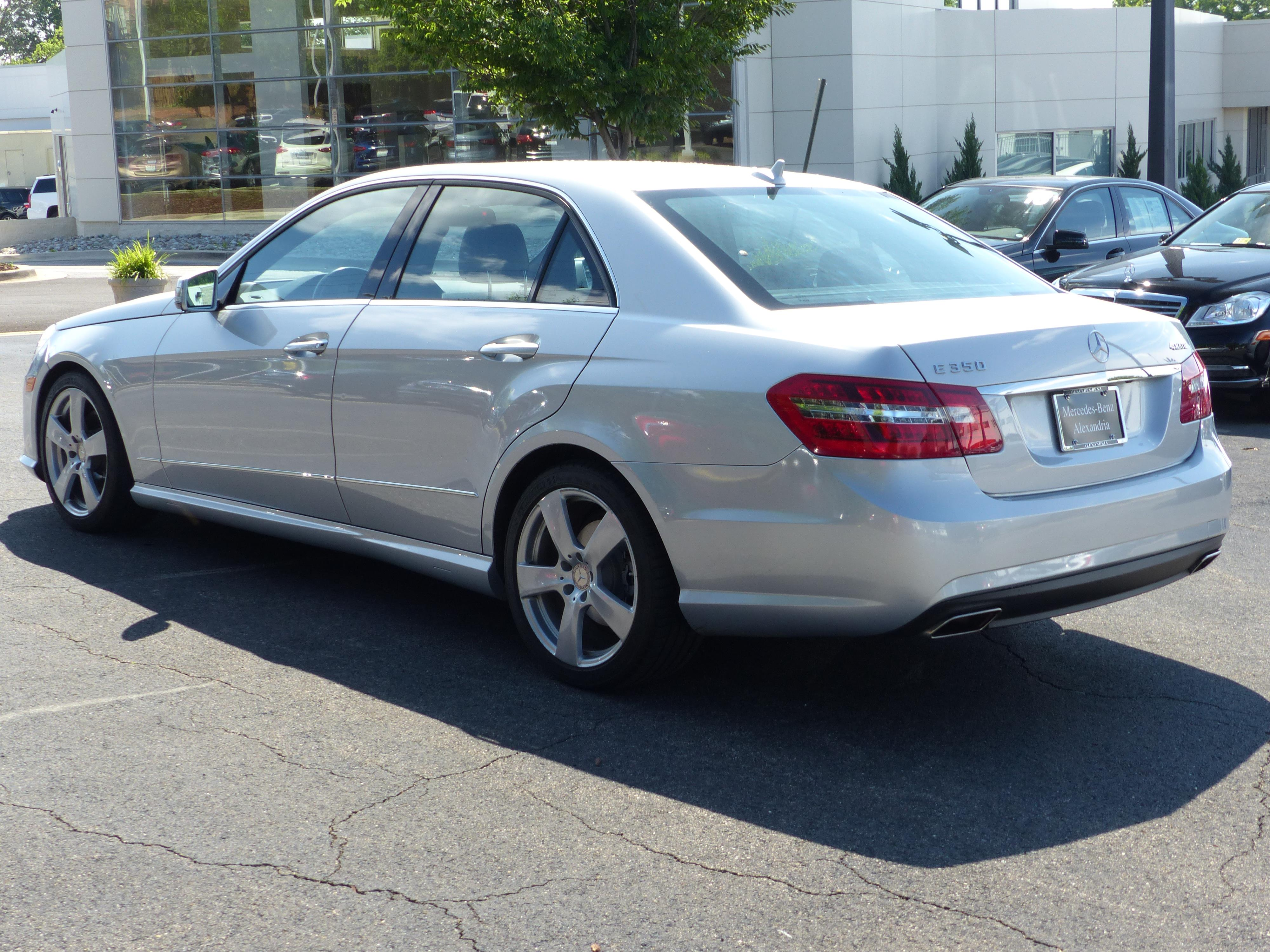 Pre owned 2011 mercedes benz e class e 350 sport sedan in for Pre owned e class mercedes benz