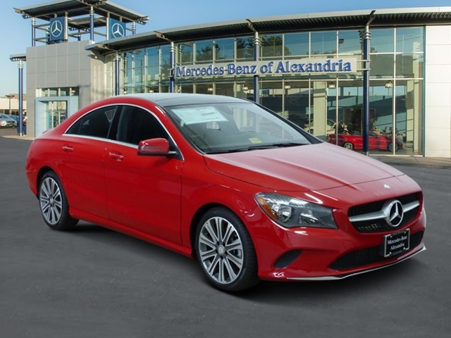 New 2018 mercedes benz cla cla 250 coupe in alexandria for Mercedes benz cla 250 msrp