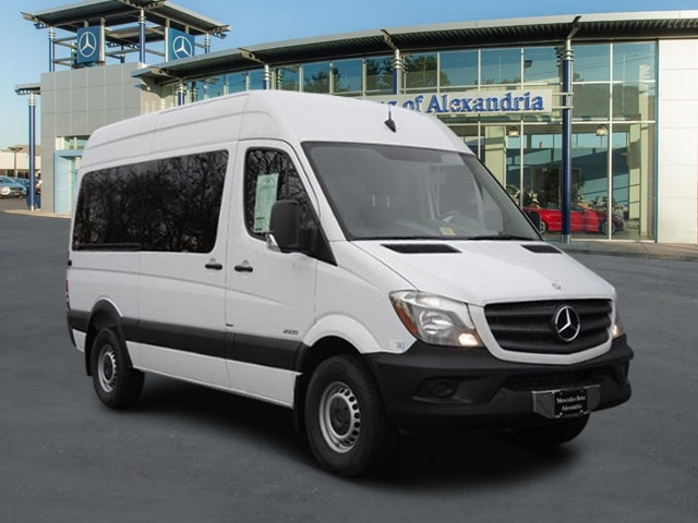 New 2015 mercedes benz sprinter 2500 passenger van for 2015 mercedes benz van