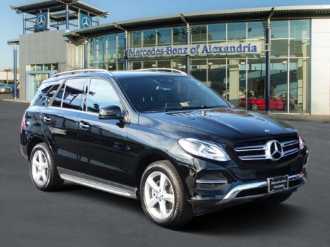pre owned 2016 mercedes benz gle gle350 sport utility in alexandria r769890a mercedes benz of. Black Bedroom Furniture Sets. Home Design Ideas