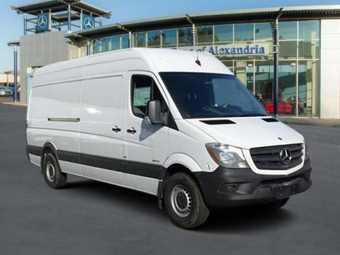 New 2016 mercedes benz sprinter high roof 2500 170 wb for 2016 mercedes benz 3500 high roof